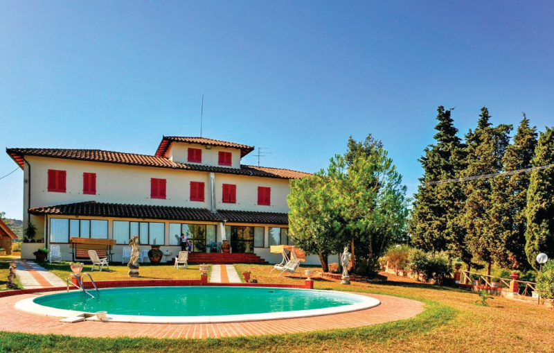 Putto 1177223,Apartamento  con piscina privada en Montaione Fi, en Toscana, Italia para 5 personas...