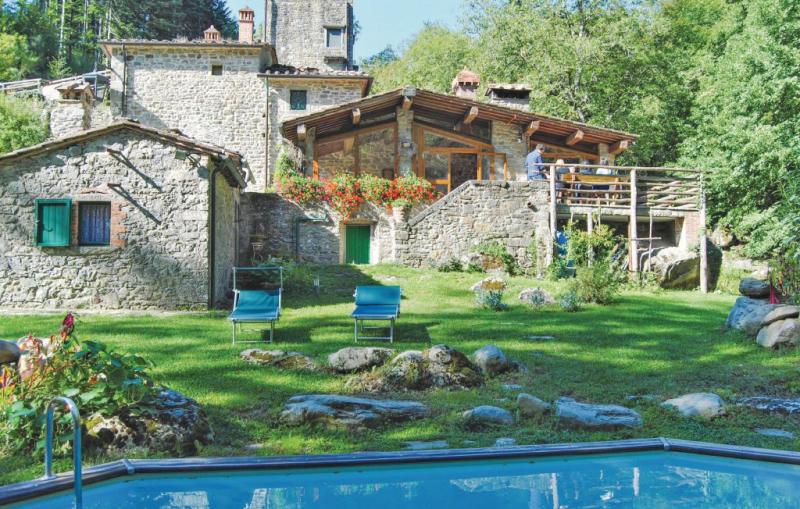 Molin vecchio sul capraia 1177615,Casa grande en Talla Ar, en Toscana, Italia  con piscina privada para 13 personas...