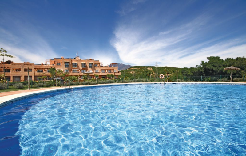 1184209,Apartamento  con piscina privada en Casares, Andalucía, España para 5 personas...