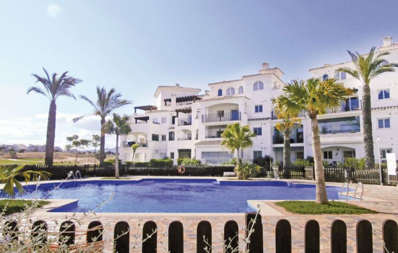 1184296,Apartamento  con piscina privada en Sucina, en la Costa Calida, España para 4 personas...