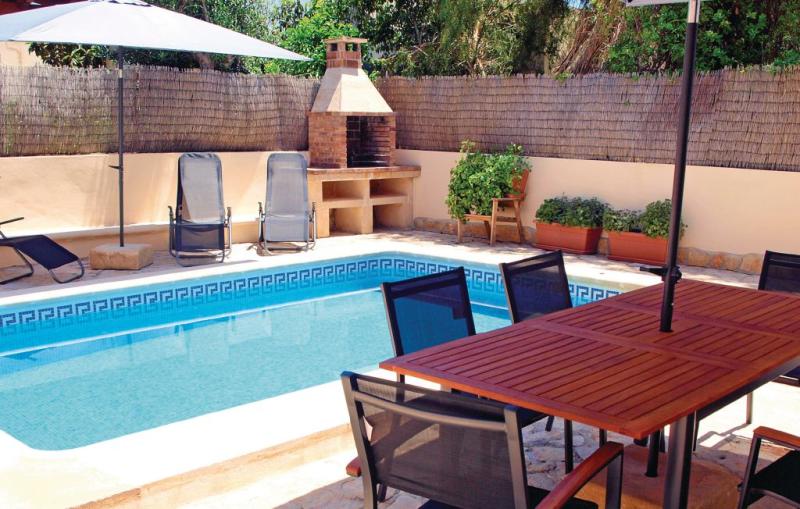 1184498,Woning  met privé zwembad in Sa Ràpita, op Mallorca, Spanje voor 8 personen...
