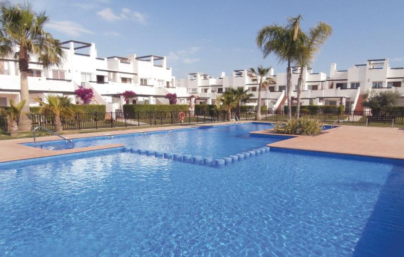 1184857,Apartamento  con piscina privada en Alhama de Murcia, Murcia, España para 5 personas...