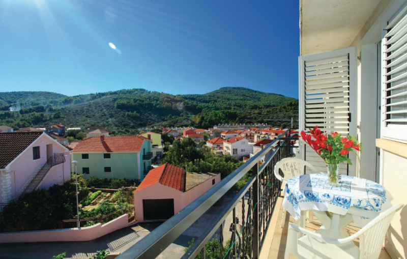 1187024,Apartamento en Vela Luka, Dalmatia Islands, Croacia para 2 personas...
