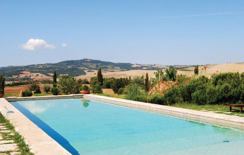 Rocca 1187151,Apartamento  con piscina privada en Pienza -Si-, en Toscana, Italia para 4 personas...