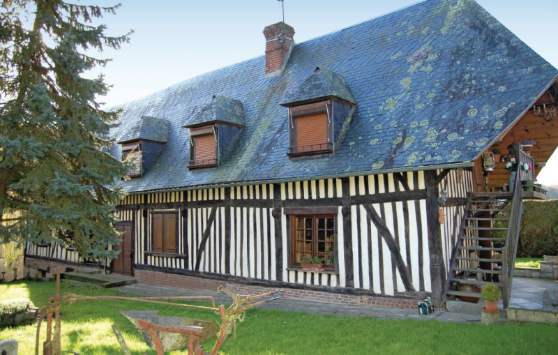 1187594, Holiday house in Marques, Normandy, France  with communal pool for 4 persons...