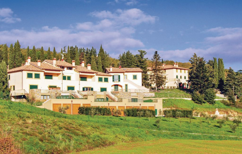 Borgo vepri b7 1187607,Apartamento  con piscina comunitaria en Bucine Ar, en Toscana, Italia para 8 personas...