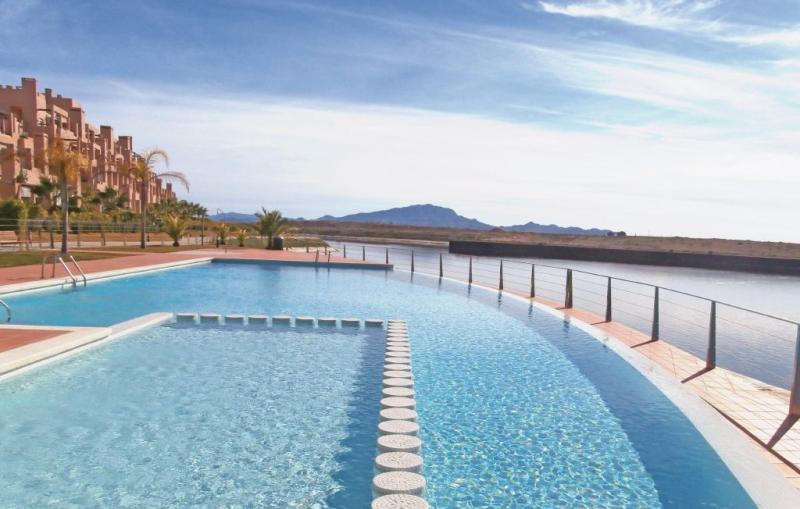 1188733,Apartamento en Alhama de Murcia, Murcia, España  con piscina privada para 4 personas...
