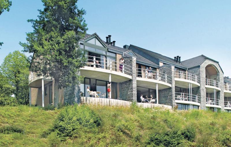 Jardins du golf  type a 1189265,Apartamento  con piscina privada en Barvaux, Luxembourg, Bélgica para 4 personas...