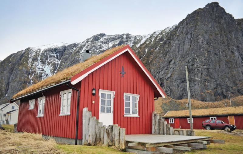 1189348,Casa en Bøstad, North Norway, Noruega para 7 personas...