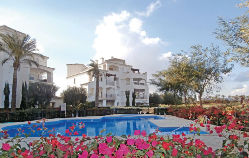1189391,Apartamento  con piscina privada en Roldán, Murcia, España para 4 personas...