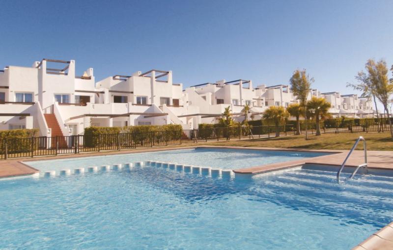 1191443,Apartamento en Alhama de Murcia, Murcia, España  con piscina privada para 5 personas...
