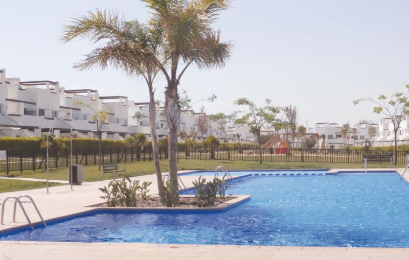 1191797,Apartamento  con piscina privada en Alhama de Murcia, Murcia, España para 4 personas...