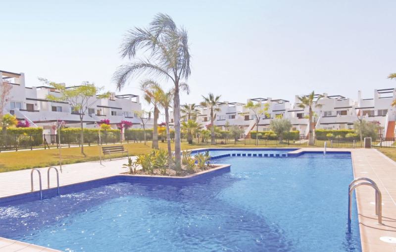 1191823,Apartamento en Alhama de Murcia, Murcia, España  con piscina privada para 4 personas...