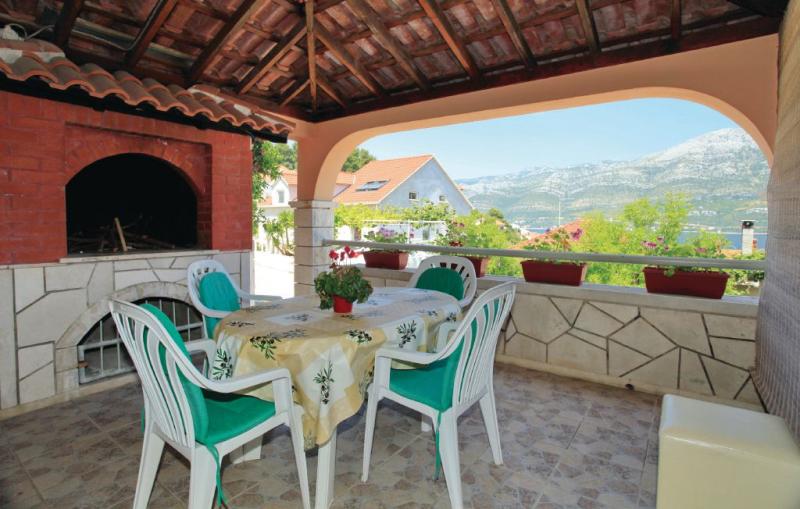 1192258,Apartamento en Korcula, Dalmatia Islands, Croacia para 4 personas...