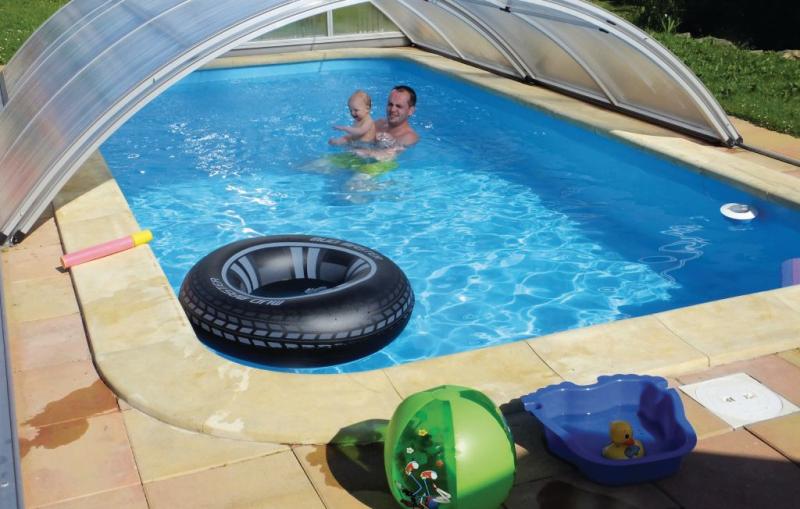 1192362,Appartement in Jilemnice, Královéhradecký kraj, Tsjechië  met gemeenschappelijk zwembad voor 5 personen...