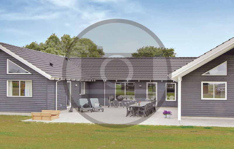 1192564,Casa  con piscina privada en Glesborg, East Jutland, Dinamarca para 24 personas...