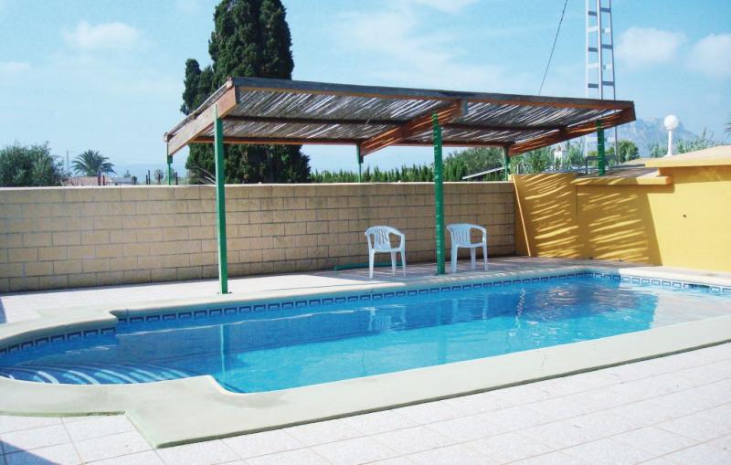 1192877,Casa  con piscina privada en El Verger, en la Costa Blanca, España para 8 personas...