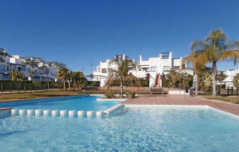 1195564,Apartamento en Alhama de Murcia, Murcia, España  con piscina privada para 4 personas...