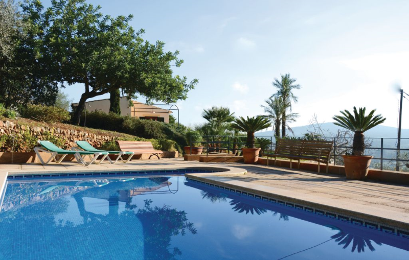 1195573,House  with private pool in Portol, Mallorca, Spain for 3 persons...