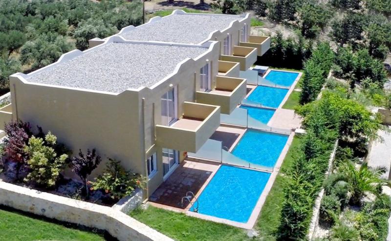 1195600,Vivienda de vacaciones  con piscina privada en Rethymno Crete, Crete, Grecia para 5 personas...