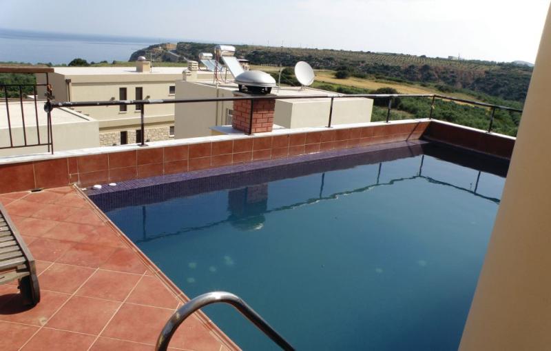 1196324,Vivienda de vacaciones en Rethymno Crete, Crete, Grecia  con piscina privada para 8 personas...