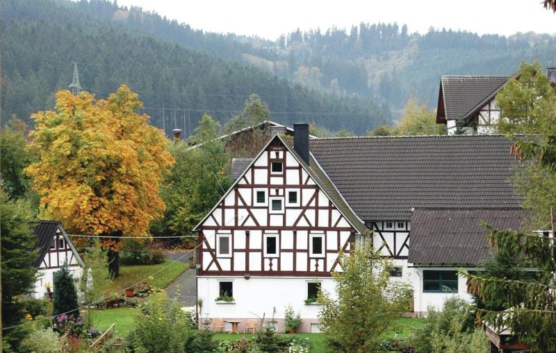 1198042,Apartamento  con piscina comunitaria en Bad Berleburg-Berghs., Sauerland, Alemania para 4 personas...
