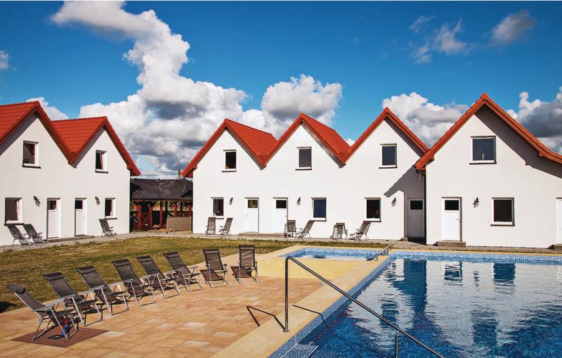 Dom szeregowy 1199512,Vivienda de vacaciones  con piscina privada en Darlowo, Rowy-Baltic sea, Polonia para 5 personas...