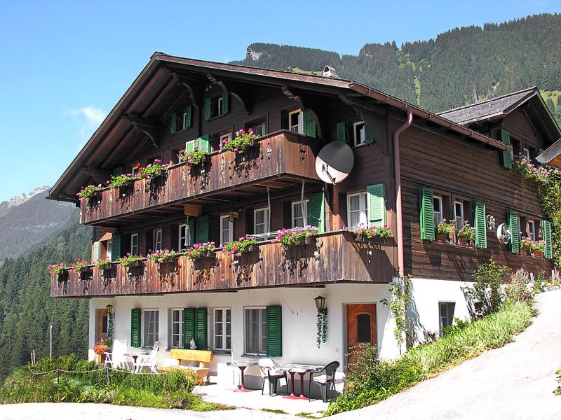 Auf dem vogelstein 142326,Apartamento en Grindelwald, Bernese Oberland, Suiza para 2 personas...