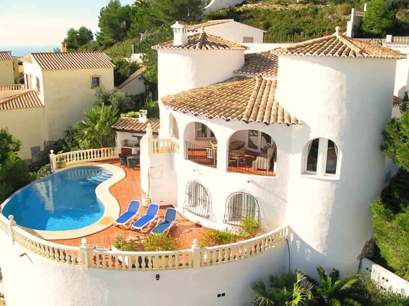 Cds 118d 147349,Villa en Jávea-Benitachell, en la Costa Blanca, España  con piscina privada para 6 personas...