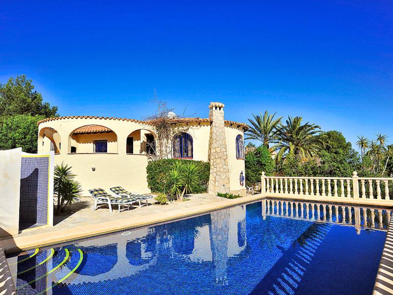 Adelfas 49 147403,Villa en Jávea-Benitachell, en la Costa Blanca, España  con piscina privada para 6 personas...