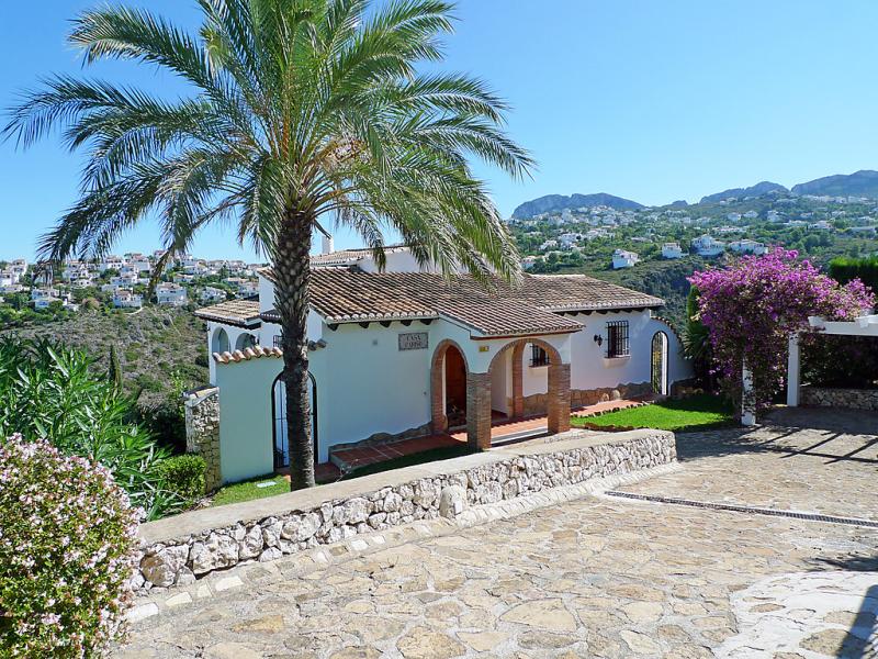 Cario 147440,Villa  con piscina privada en Pego, en la Comunidad Valenciana, España para 6 personas...
