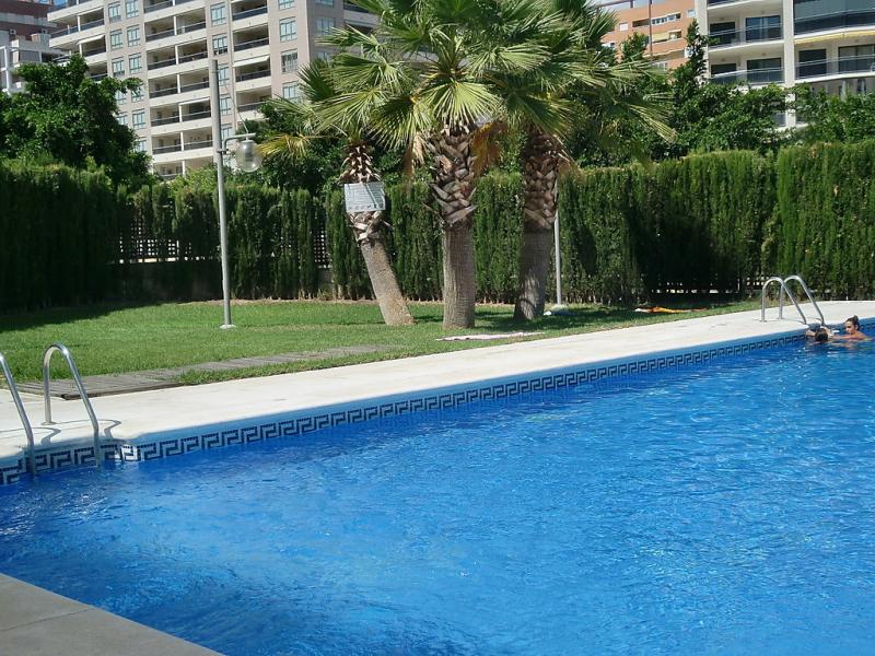 Sidney 1421915,Apartamento  con piscina privada en Benidorm, en la Costa Blanca, España para 3 personas...