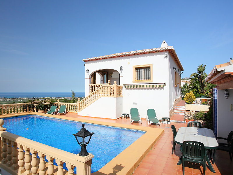 Villa rafol 1431440,Vivienda de vacaciones  con piscina privada en Pego, en la Comunidad Valenciana, España para 6 personas...