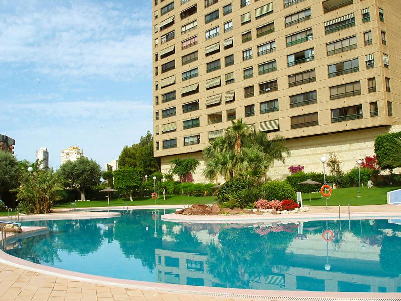 Coblanca 32 a 1436806,Apartamento  con piscina privada en Benidorm, en la Costa Blanca, España para 4 personas...