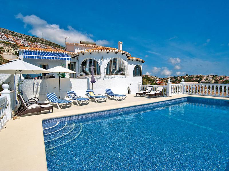 Dalias 55 1471946,Vivienda de vacaciones  con piscina privada en Jávea-Benitachell, en la Costa Blanca, España para 10 personas...