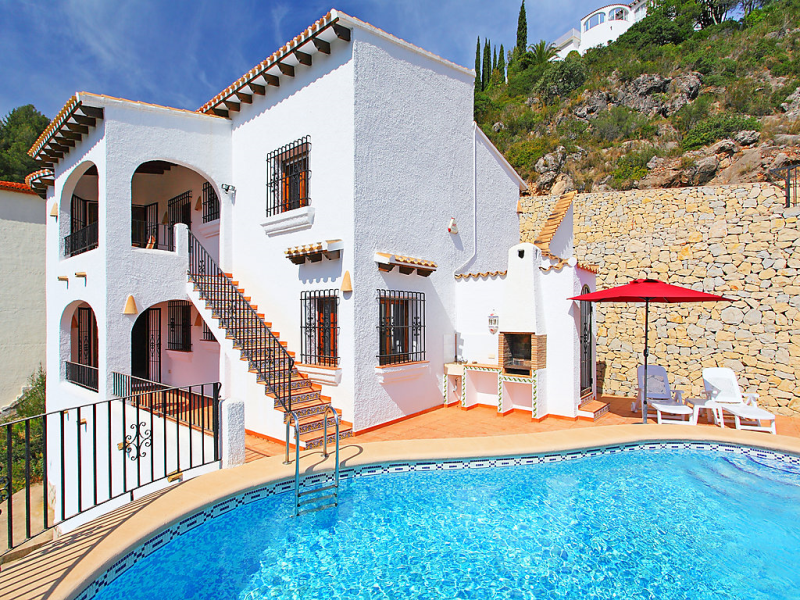 Del azahar 1479267,Villa  con piscina privada en Pego, en la Comunidad Valenciana, España para 4 personas...