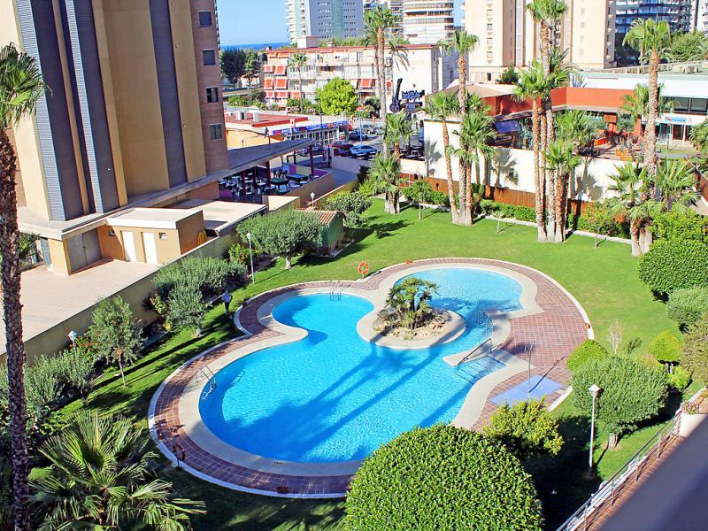 Torpa 3e 1490285,Apartamento  con piscina privada en Benidorm, en la Costa Blanca, España para 4 personas...