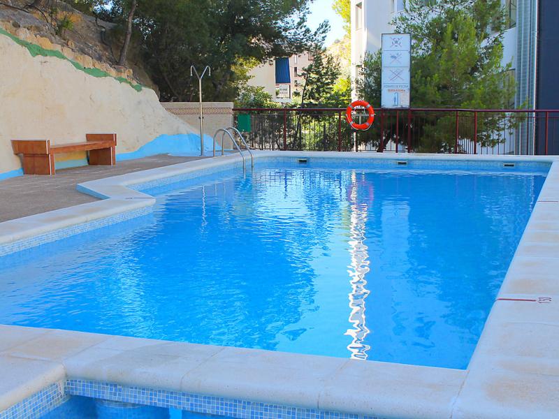 Cardenal ii 1d 1491106,Apartamento  con piscina privada en Benidorm, en la Costa Blanca, España para 3 personas...