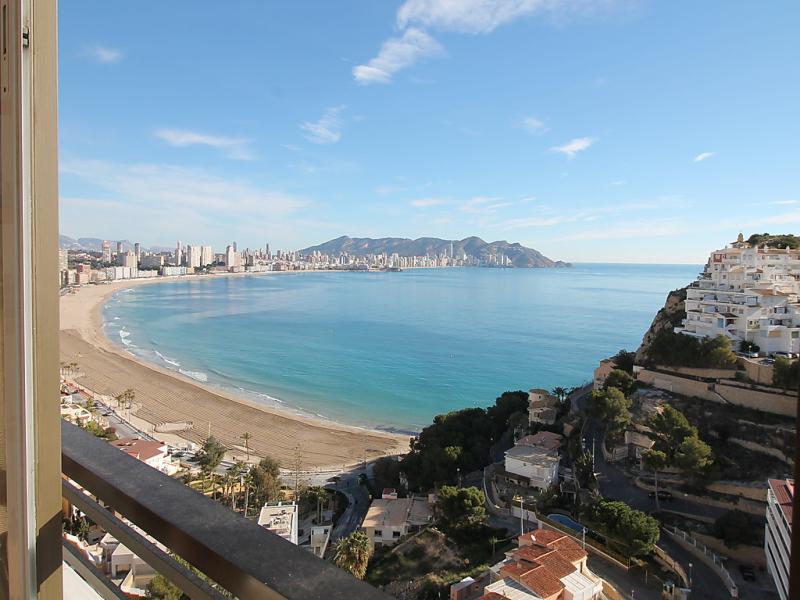 Vistamar 1494196,Apartamento  con piscina privada en Benidorm, en la Costa Blanca, España para 4 personas...
