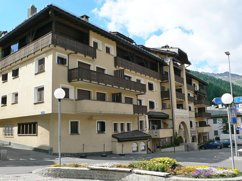 Apt 12 143830,Apartamento en Silvaplana-Surlej, Graubunden, Suiza para 2 personas...