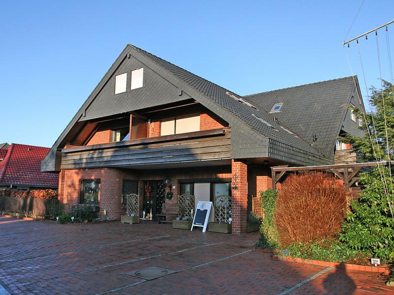 Haus windrose 144242,Apartamento  con piscina privada en Burhave, North Sea, Alemania para 2 personas...