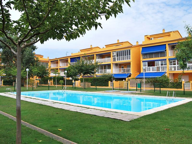 Mediterranean blau 147083,Apartamento en Oropesa Del Mar, Castellon, España  con piscina privada para 4 personas...