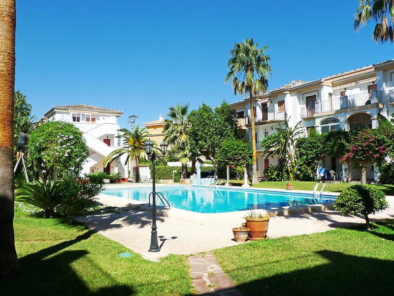 Urb el patio 01 147161,Appartement  met privé zwembad in Dénia, Alicante, Spanje voor 2 personen...
