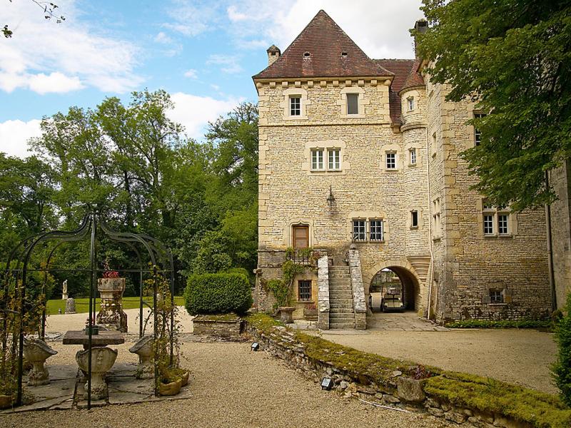 Le vieux chteau 149384,Castillo en Voutenay-sur-Cure, Burgundy, Francia  con piscina privada para 15 personas...