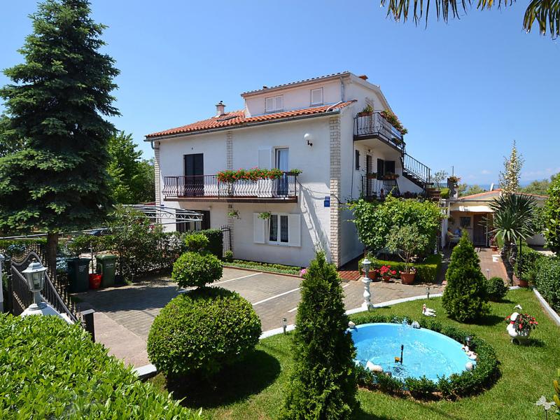 1412861,Apartamento en Krk-Malinska, Kvarner, Croacia para 4 personas...