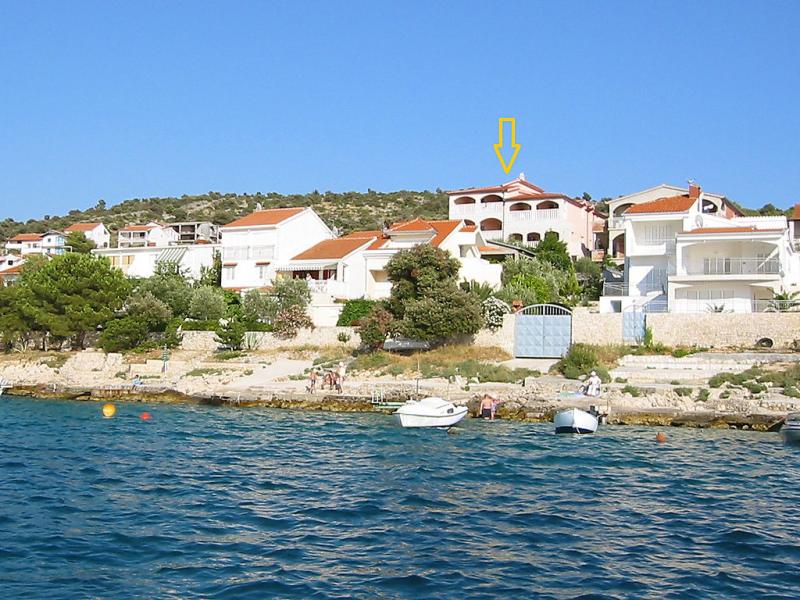 1413250,Apartamento en Rogoznica-Ražanj, Central Dalmatia, Croacia para 3 personas...