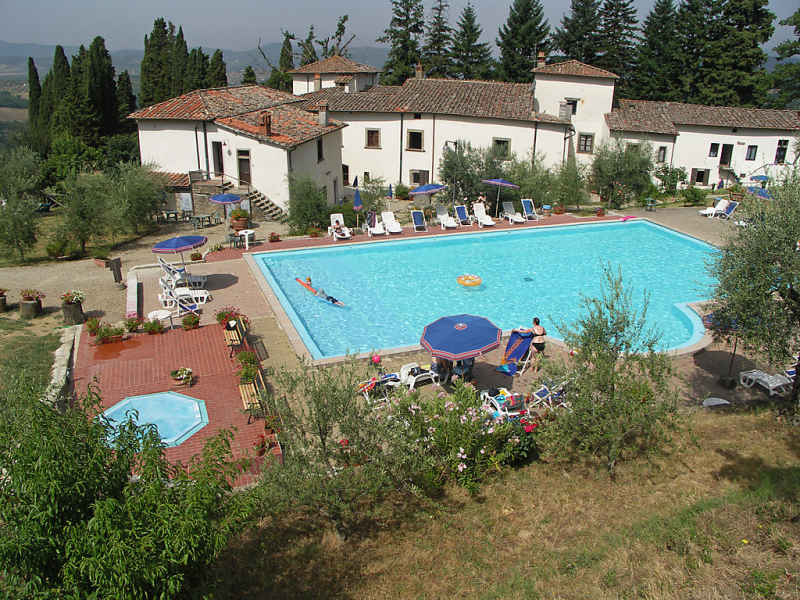 Villa grassina 1414504,Apartamento  con piscina privada en Pelago, en Toscana, Italia para 2 personas...