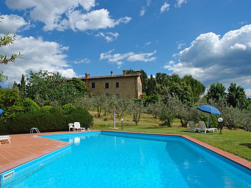 Caminetto 1414609,Apartamento en Gambassi Terme, en Toscana, Italia  con piscina privada para 4 personas...