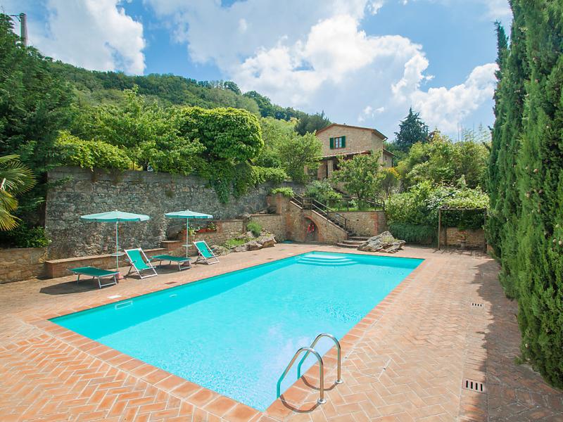 Le pergole 1414673,Villa  con piscina privada en Volterra, en Toscana, Italia para 6 personas...