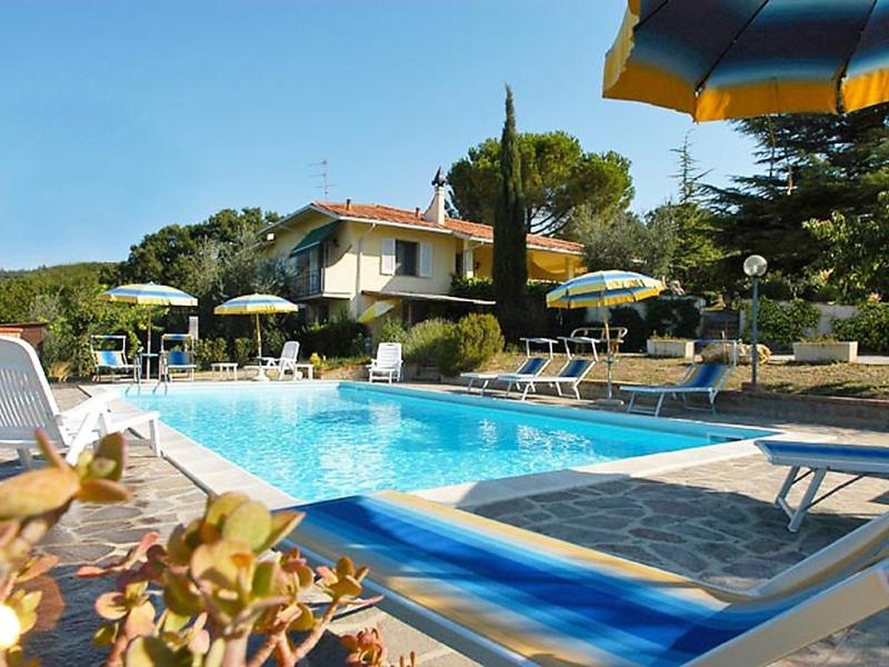 Abete 1414925,Apartamento  con piscina privada en Montaione, en Toscana, Italia para 4 personas...